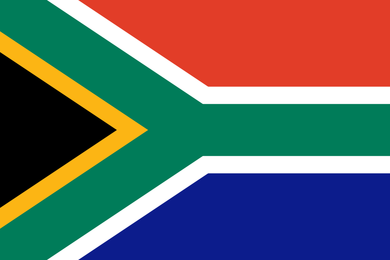 New South African Flag
